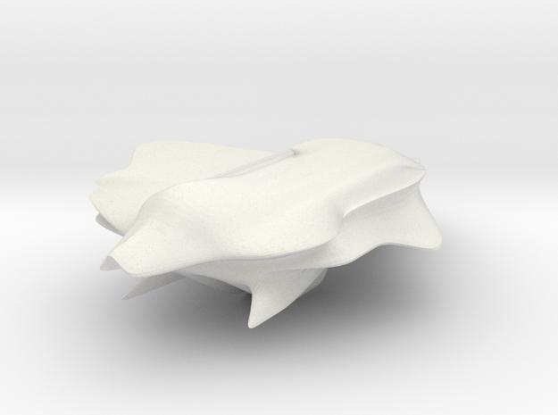 shuttle001.dae in White Natural Versatile Plastic