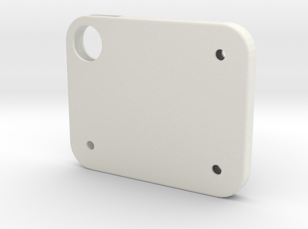Flash Cover Holes in White Natural Versatile Plastic