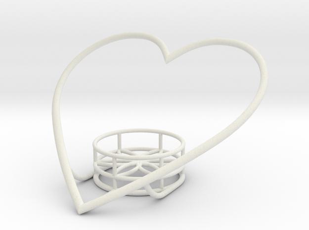 Heart Candle Holder v6 3d printed