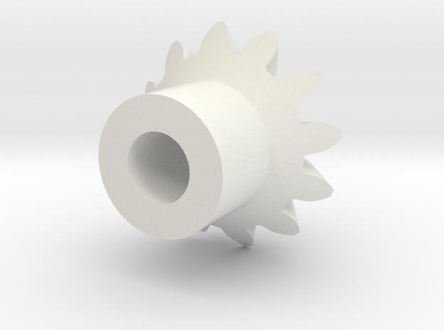CV4_Drive_Miter.stl in White Natural Versatile Plastic