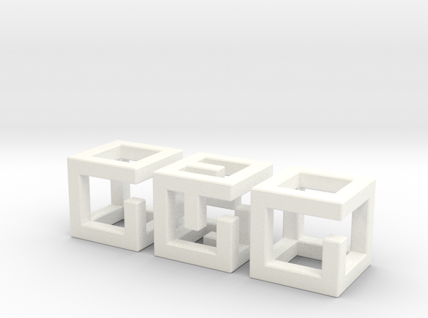 Little MazeNCubes 3d printed