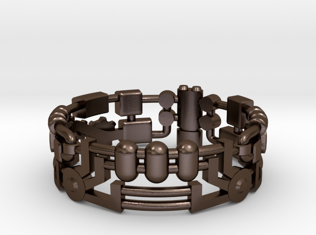 Mecha Ring (size 10ish in metal)