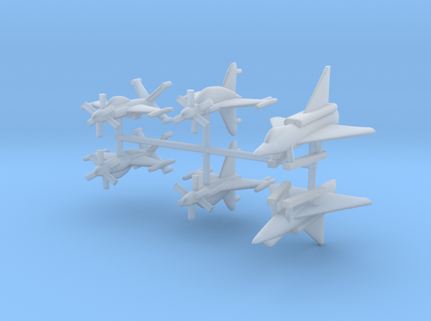 1/700 Experimental Aircraft Set 4 in Smooth Fine Detail Plastic
