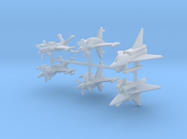 1/700 Experimental Aircraft Set 4