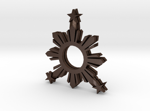 FilipinoLogo_stacked_001.dae 3d printed