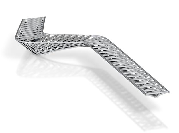 Deakin Footbridge - Eastern Truss 3d printed