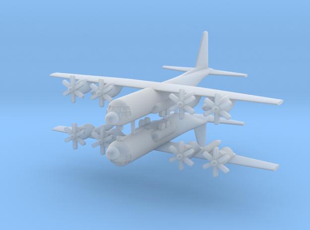 1/700 C-130J Super Hercules (x2) in Smooth Fine Detail Plastic