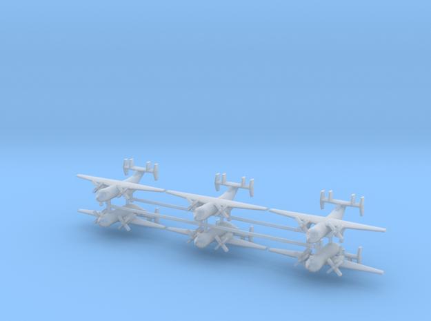 1/700 C-2A Greyhound (x6) in Smooth Fine Detail Plastic