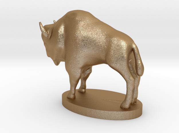 "Buffalo Nickel statue - 1"" = 16' 3d printed"