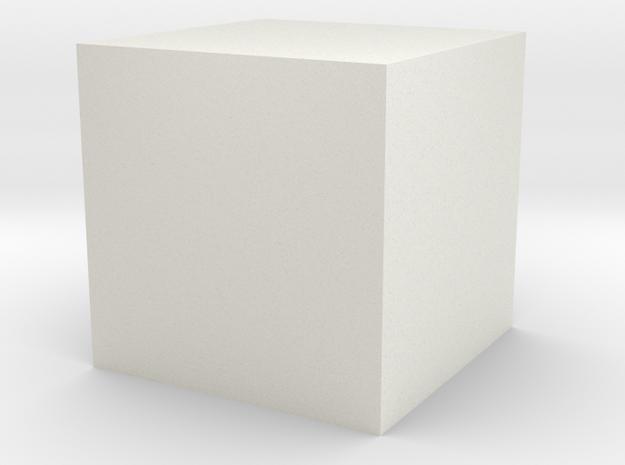 Wuerfel 1cm3 3d printed