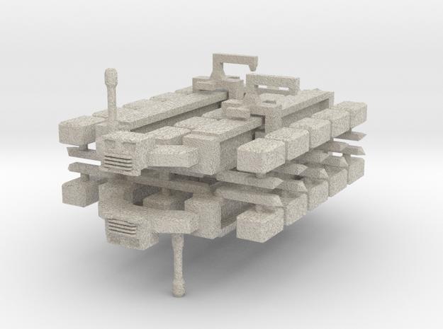 Cargo Spaceship x2 3d printed