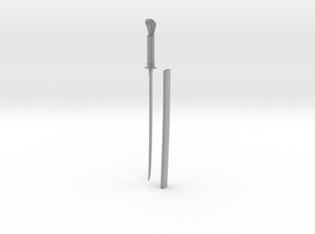 Large Snake Long Sword 3d printed