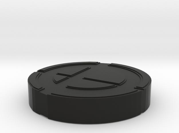 Super Smash Brothers Logo 3d printed
