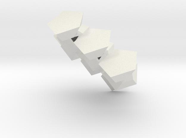 Dodecafé in White Strong & Flexible