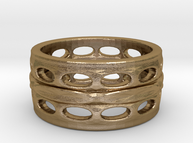 holey ring 9 3d printed