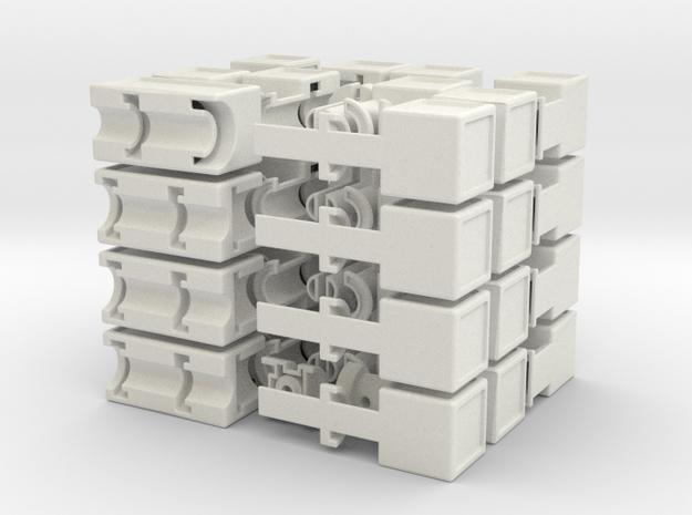 Fractal Cube 3d printed