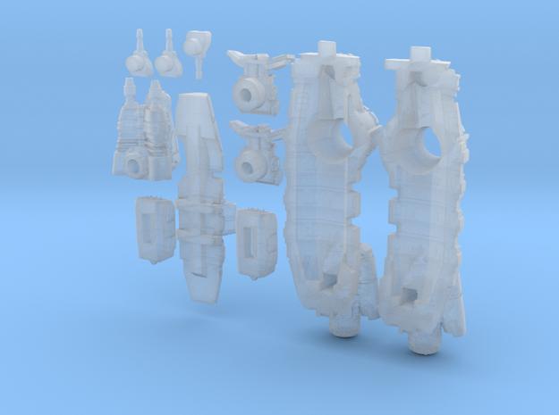 Titan Class - Assault Frigate 3d printed