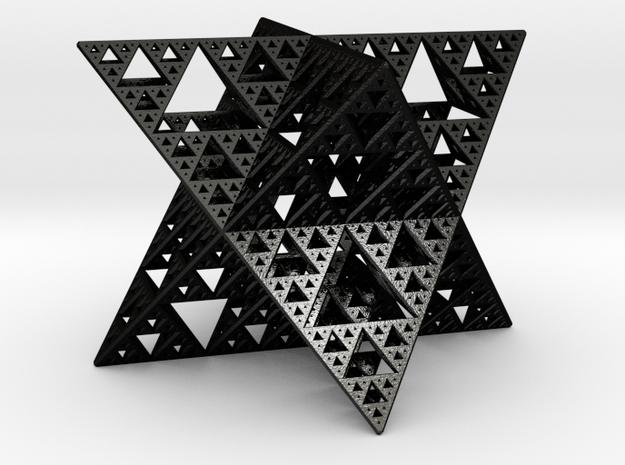Sierpinski Octostar 3.75cm 3d printed