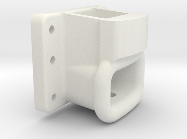A10463 Drawhead 9630 in White Natural Versatile Plastic