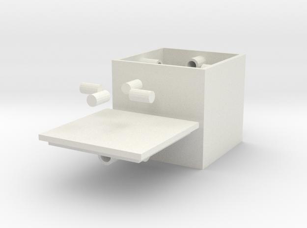 Small Centripetalbox in White Strong & Flexible