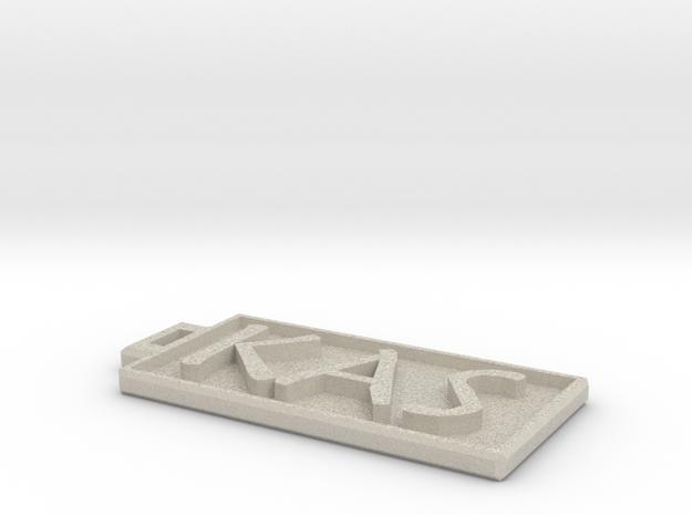 KAS Dogtag 3d printed