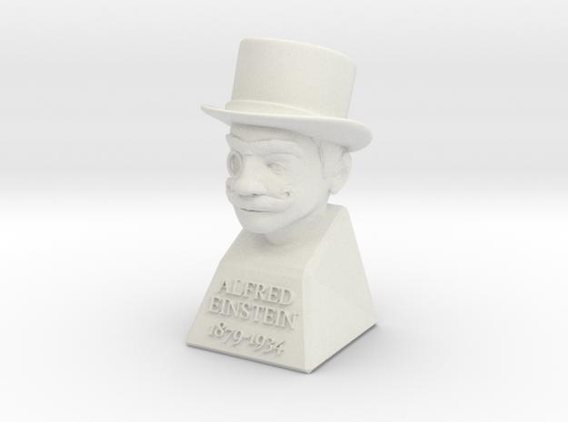 """2"""" Alfred Einstein 3d printed"""