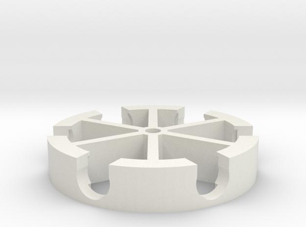 Dremelfuge Classic in White Natural Versatile Plastic