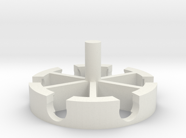 DremelFuge Chuck Edition in White Natural Versatile Plastic