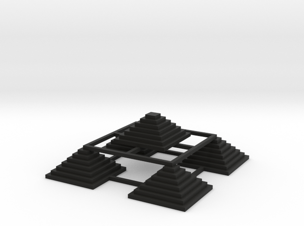 Pyramid 5 Small 3d printed