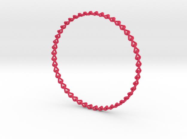 Rainbow Bracelete (kids size) 3d printed