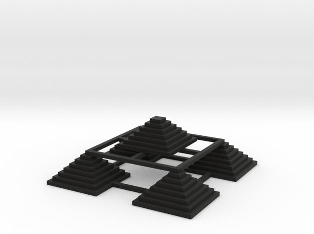 Pyramid 5 Small W 3d printed