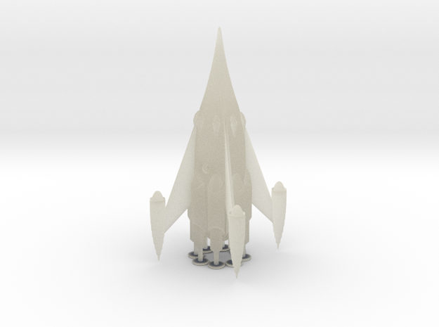 "R-Rocket ""Mars""-Class Large in Transparent Acrylic"