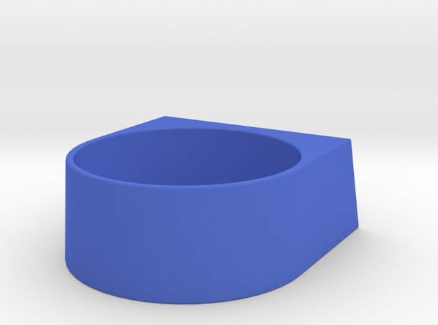 block Ring 20 3d printed