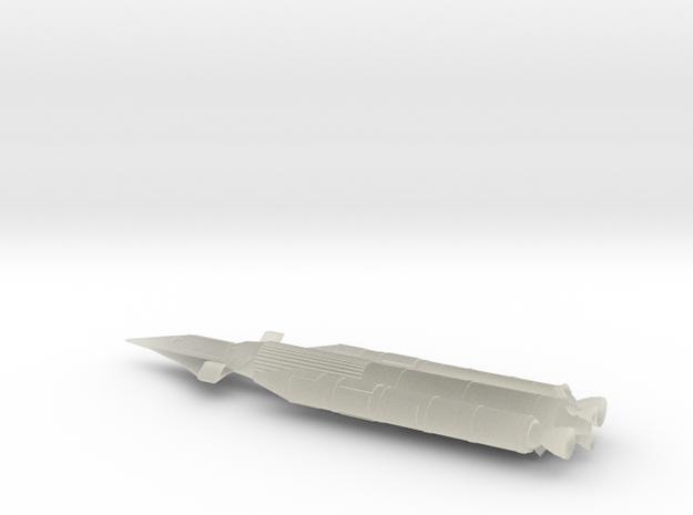 NASC Dynasoar Booster in Transparent Acrylic
