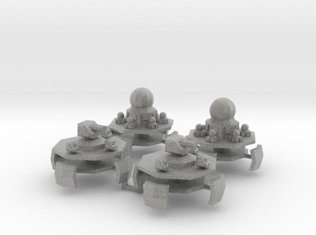 9 Air Fort 3&4 x4 3d printed
