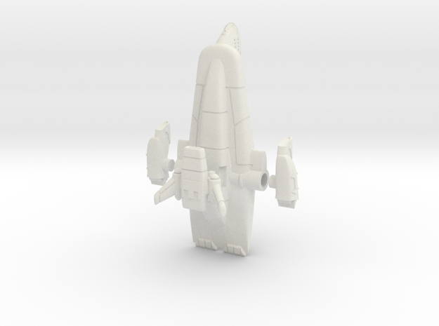 Starlord Liner + cargo pod in White Natural Versatile Plastic