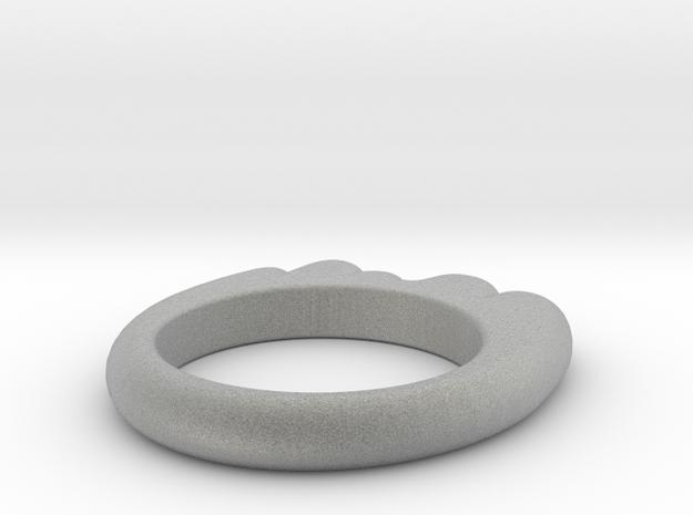 Glop Ring 3d printed