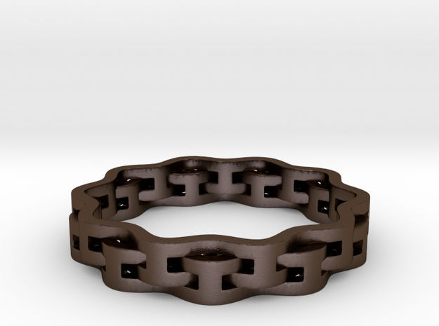 Interlaced Ring 3d printed