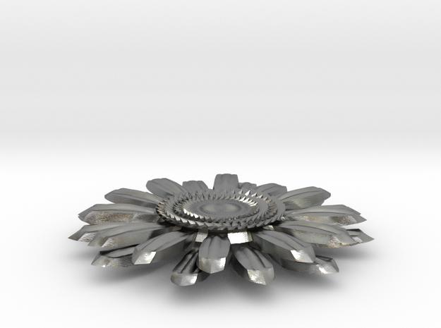 Sunflower Pendant 3d printed
