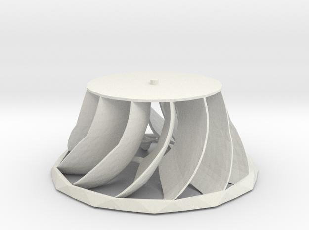Turbine Francis 3d printed