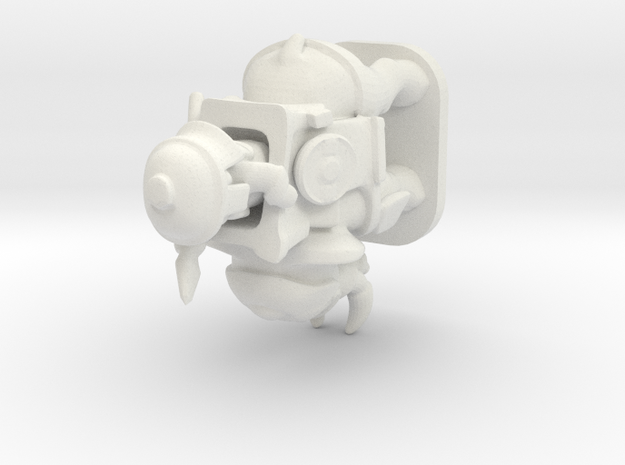 war elephant pawn in White Natural Versatile Plastic