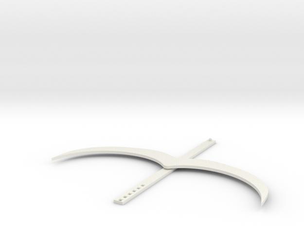 The Stash in White Natural Versatile Plastic