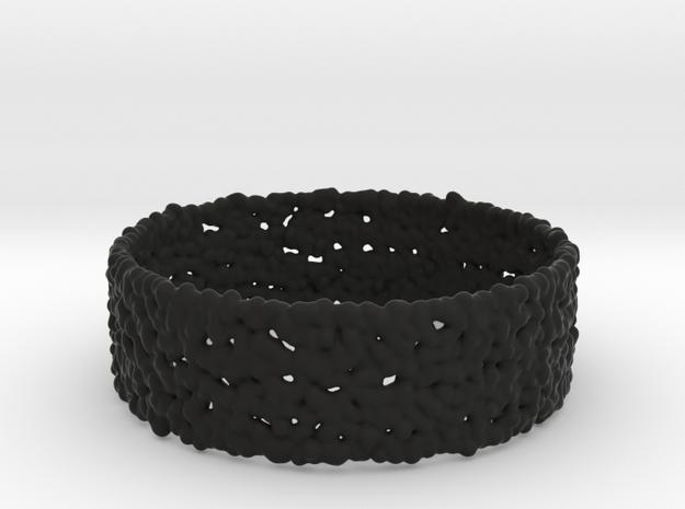 fluid_column_bracelet 3d printed