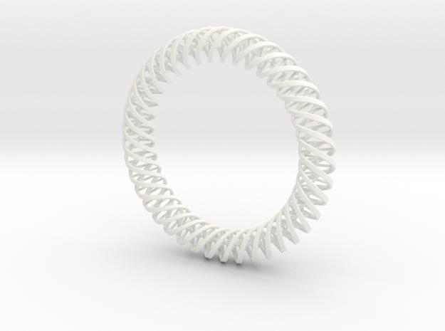 """DNA"" Bangle/Pendant #40 3d printed"