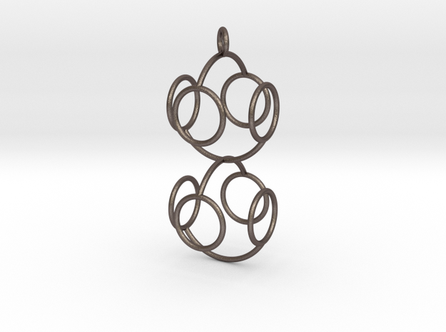Marble Pendant Omicron 3d printed