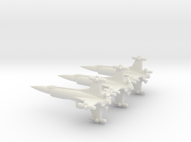 NASC F103 Squad in White Natural Versatile Plastic