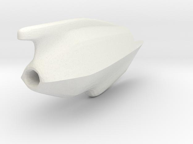 RhinoTest in White Natural Versatile Plastic