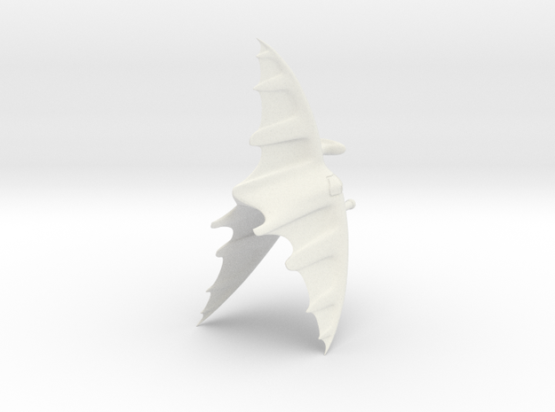 The Minbari Test in White Natural Versatile Plastic