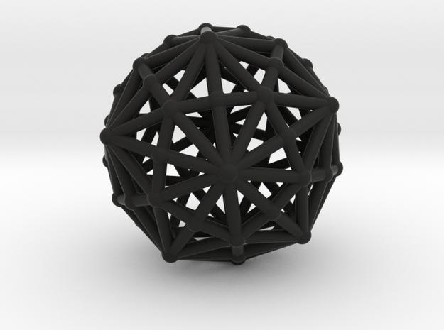 Dysdiakistriacontahedron 3d printed