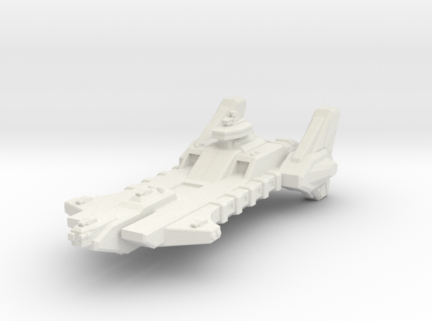 Union Heavy Carrier in White Natural Versatile Plastic